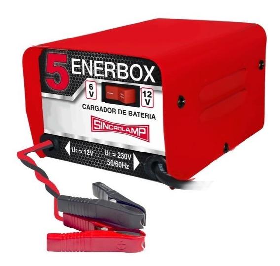 Cargador De Baterias Sincrolamp Enerbox 5 - 3 Amp/hora
