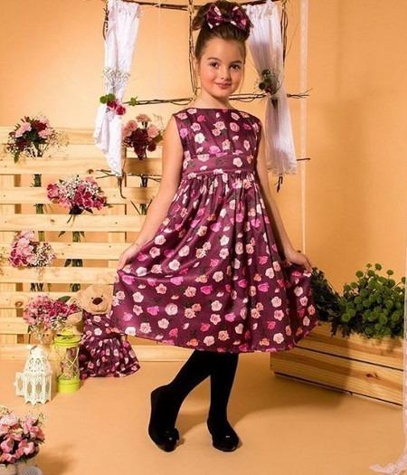 Vestido Festa Infantil Tal Menina Tal Boneca Luxo