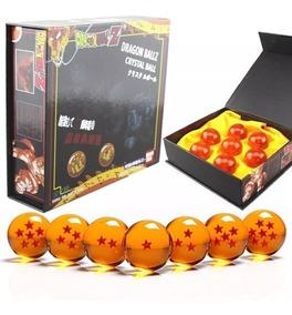 Dragon Ball Z Super Gt 7 Esferas Con Caja 3.5cm