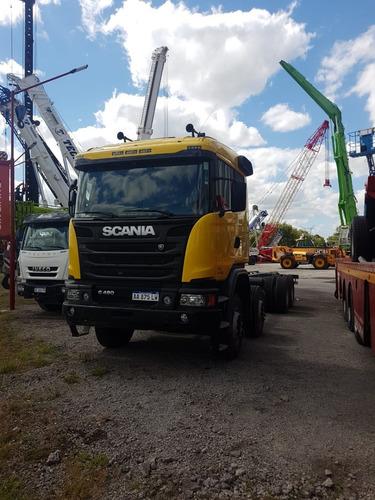 Camión Scania G480 B8x4