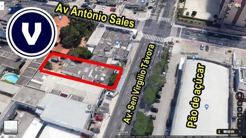 Terreno Na Av Sen Virgílio Távora - Ponto Comercial Para Aluguel No Bairro Dionisio Torres - Fortaleza, Ce - Ve00367