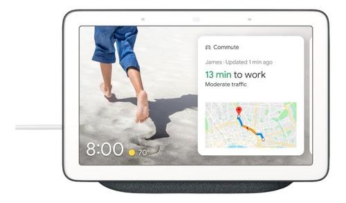 """Google Nest Hub con asistente virtual Google Assistant, pantalla integrada de 7"""" charcoal 110V/220V"""