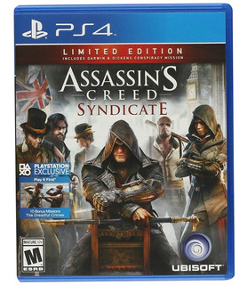 Assassins Creed Syndicate Ps4 Nuevo Fisico Sellado