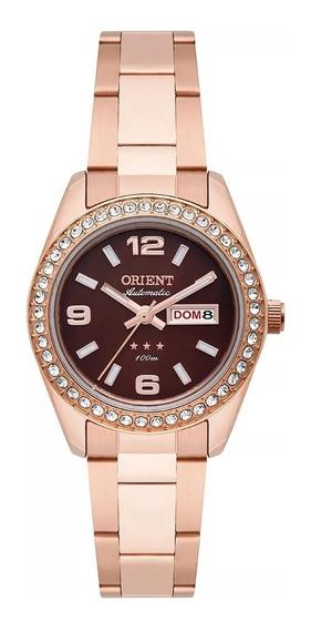 Relógio Orient Automático Feminino Aço Rosê 559rg008 N2rx
