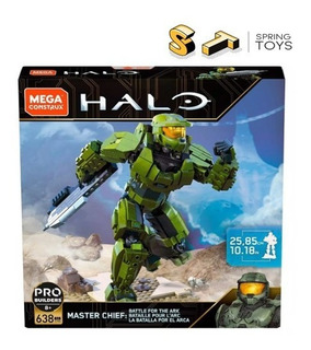 Mega Construx Halo Master Chief Gjh06 638 Pcs Pro Builders
