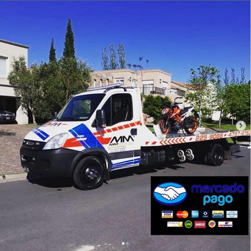 Imagen 1 de 10 de Grua Para Autos Remolque Camilla Trasladode Autos Plancha
