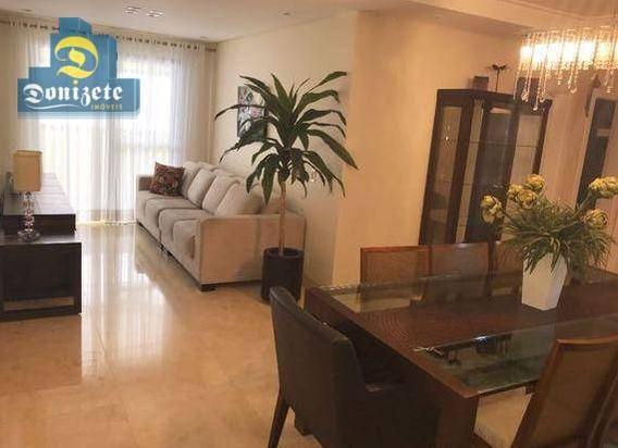 Apartamento Com 3 Dormitórios À Venda, 106 M² Por R$ 560.000,00 - Vila Gilda - Santo André/sp - Ap9131
