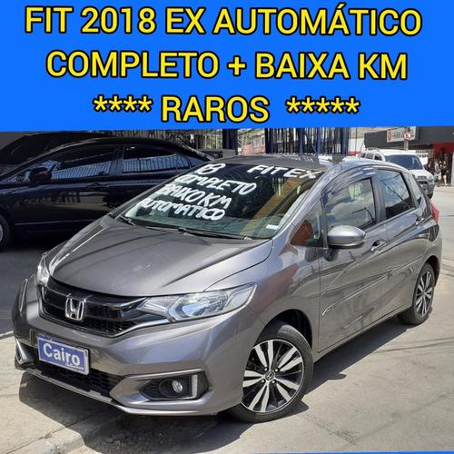 Honda Fit 2018 Ex 1.5 Automatico Completo Baixa Km