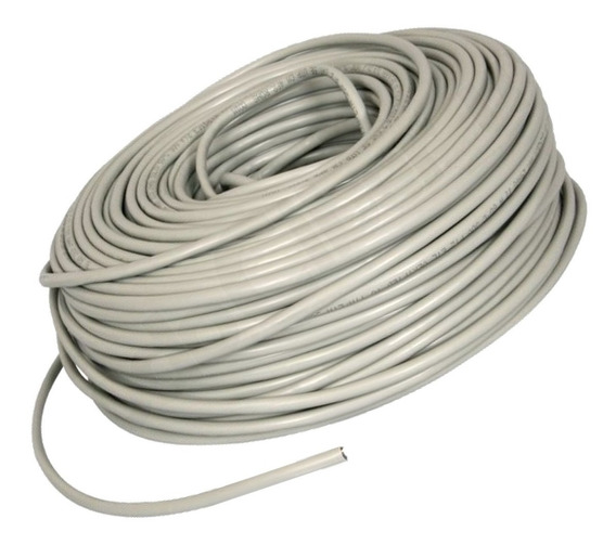 Cable Utp Cat 5e Bobina 50 Metros Marca Wireplus+ Cat5e