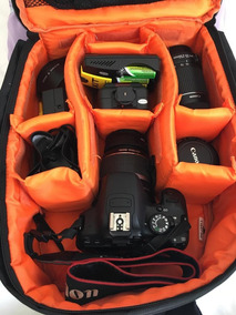 Câmera Canon Eos Rebel T3i Com Video Em Excelente Estado