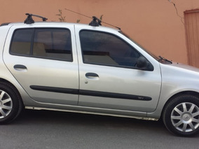 Renault Clio 1.0 16v Campus Hi-flex 5p Prata Econômico Hatch