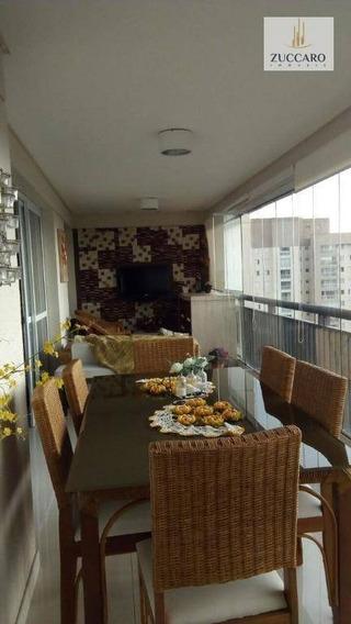 Apartamento Com 3 Dormitórios Para Alugar, 124 M² Por R$ 4.850,00/mês - Vila Progresso - Guarulhos/sp - Ap11622
