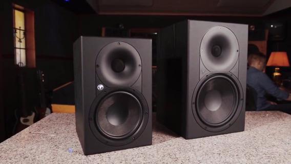 Par De Monitores De Audio Mackie Ativo 8 Xr-824 160w 8pol