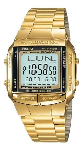 Relógio Casio Digital Vintage Original Dourado Db-360g-9adf