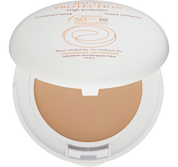 Avene Protector Solar Mineral Compacto Cremoso Con Color Fps50 Petaca Piel Sensible