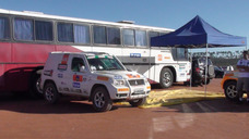 Ônibus Cegonha/oficina Apoio Para Rallye Rali Ralli