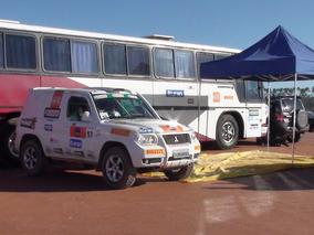Ônibus Cegonha/oficina Apoio Para Rallye Rali, Ralli, Rallie