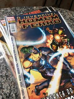 Lote Inteiro Com 24 Hqs Homem De Ferro & Thor Marvel
