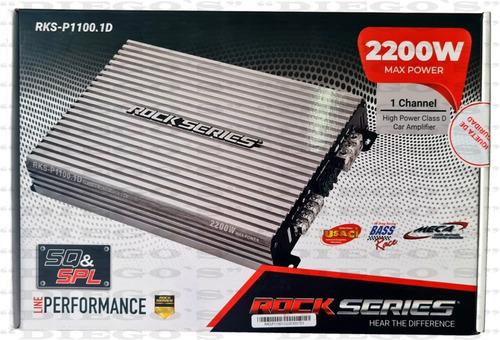 Imagen 1 de 7 de Amplificador Rock Series Rks-p1100.1d 2200w Clase D  1 Canal