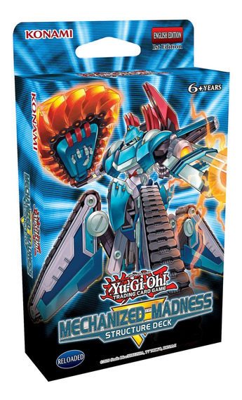 Yugioh - Structure Deck Mechanized Madness - Xion Store