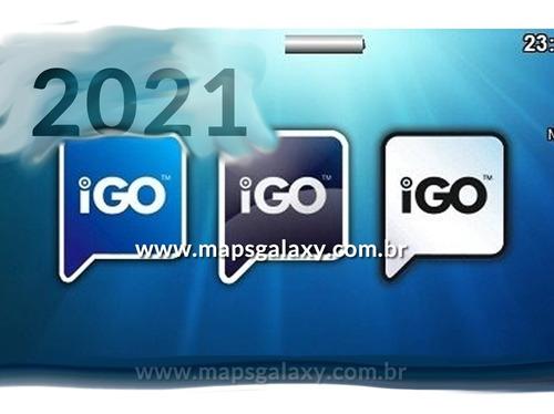 Imagem 1 de 4 de Atualização Gps 2021 - Igo Amigo Primo Igo8 Download