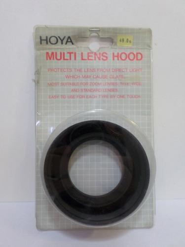 Parasol Plegable Goma Hoya 55mm