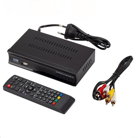 Receptor De Satélite Hd Digital Dvb T2 / S2 Tv Tuner