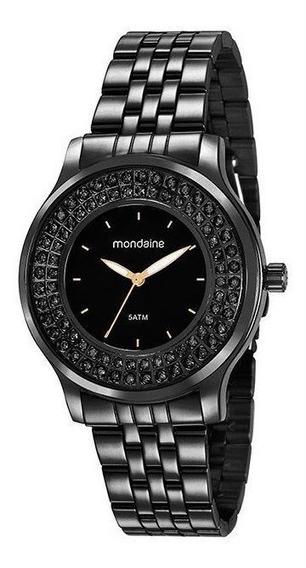 Relógio Mondaine Feminino Preto 99266lpmvpe3