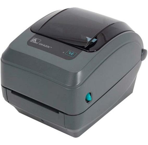 Impresora Termica De Etiquetas Zebra Gk420t