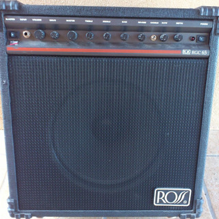 Amplificador Ross Rgc 65 Made In Usa 65w Rms