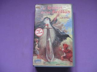Pelicula Vhs El Señor De Los Anillos, 1993