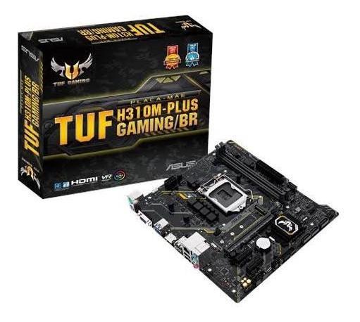Placa Mãe Asus H310m Plus Gaming/br