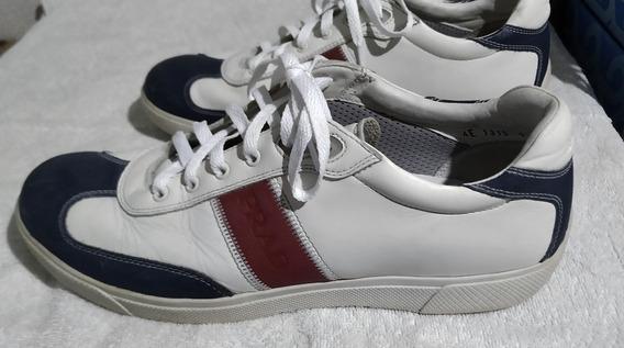 Tênis Prada Importado - Sapato Tam. Us. 9 (calça Até 42 Br)