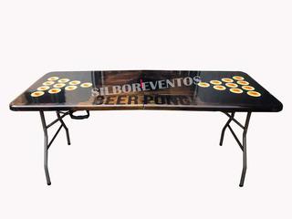 Mesa De Beer Pong Plegable Verano Furor En El Mundo