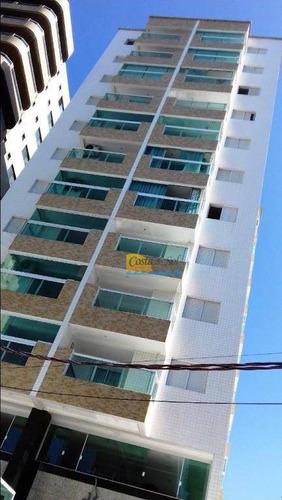 Apartamento Com 1 Dormitório À Venda, 44 M² Por R$ 195.000,00 - Tupi - Praia Grande/sp - Ap14741