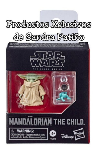 Baby Yoda Child Star Wars Black Series Mandalorian Stock Hoy