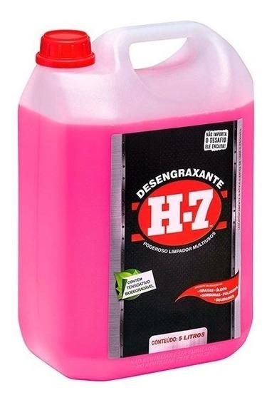 Desengraxante H-7 - 5 Litros - Limpeza Pesada - H7 Original