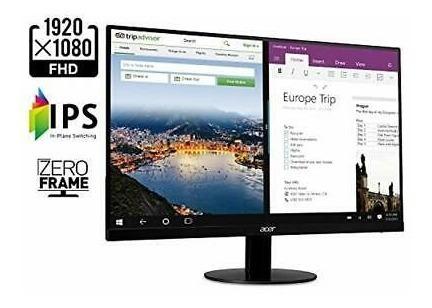 Monitor Acer Sb220q Panorámica De 21.5 Full Hd