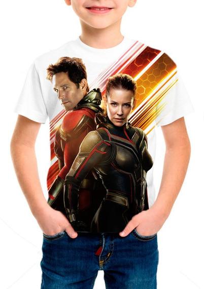 Camiseta Infantil Filme Homem Formiga E A Vespa 02