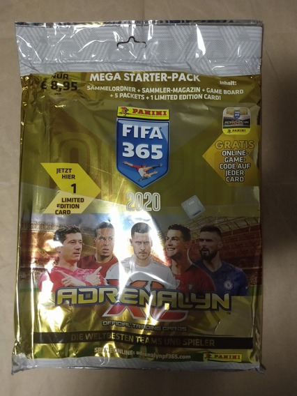 Starter Pack Adrenalyn Xl Fifa 365 2020 Panini