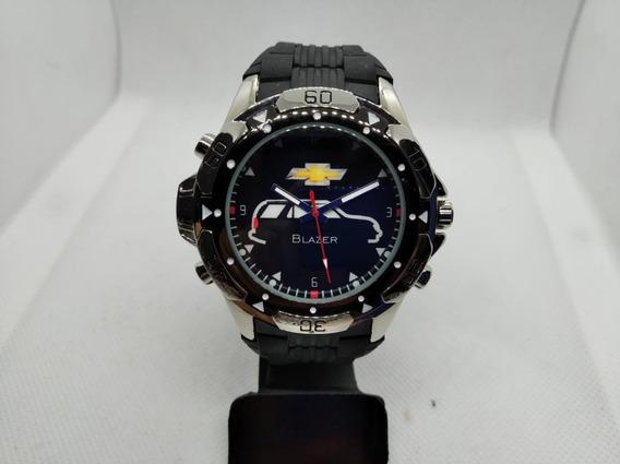 Relógio De Pulso Personalizado Gm Blazer Chevrolet- Promoção