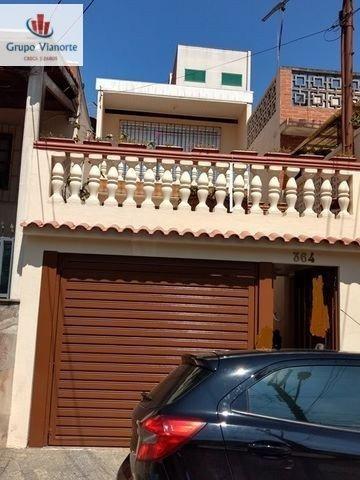 Casa A Venda No Bairro Vila Isolina Mazzei Em São Paulo - - P0097-1