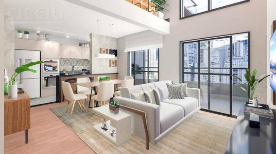 Apartamento Loft Aquarius, 94 M², 2 Vgs, Em Construcao - Ap2124