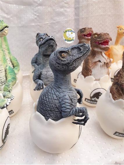 Dinosaurios En Huevo -porcelana Fria