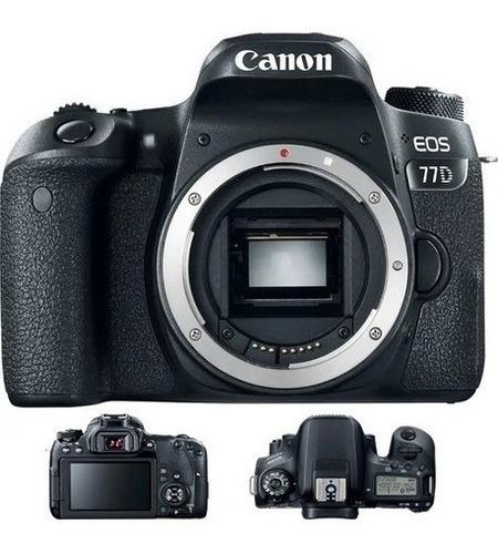 Câmera Canon  Eos 77d - 24.2mp. - Só Corpo