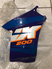 Carenagem Tanque Nx 200 Direita 97 Roxo Original