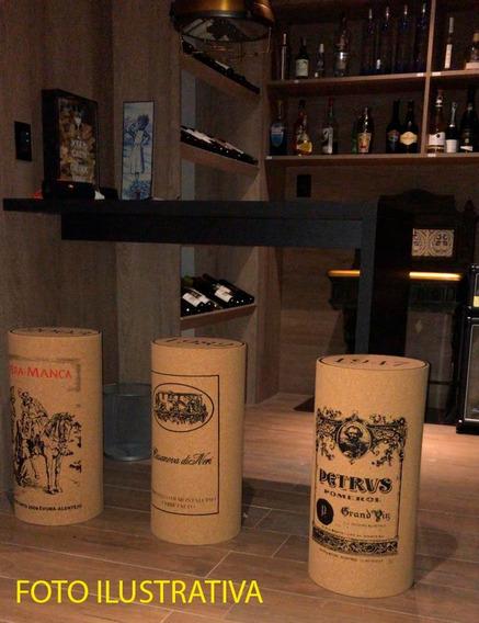 Banqueta De Rolha De Vinho - Pronta Entrega Novos Rótulos