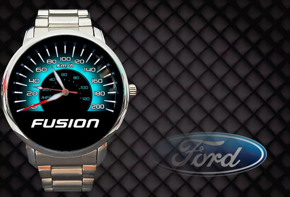 Relógio Personalizado Painel Velocímetro Ford Fusion Top