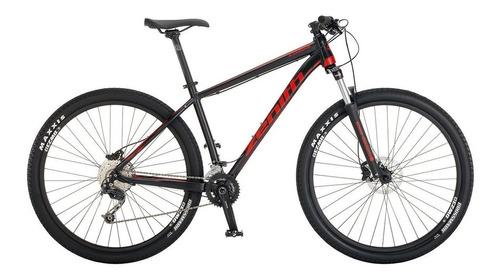 Imagen 1 de 3 de Mountain bike Zenith Bicycles Off Road Series Calea 29 Comp  2018 R29 M 18v frenos de disco hidráulico cambios Shimano Alivio M4020 y Shimano Deore M592 color negro mate