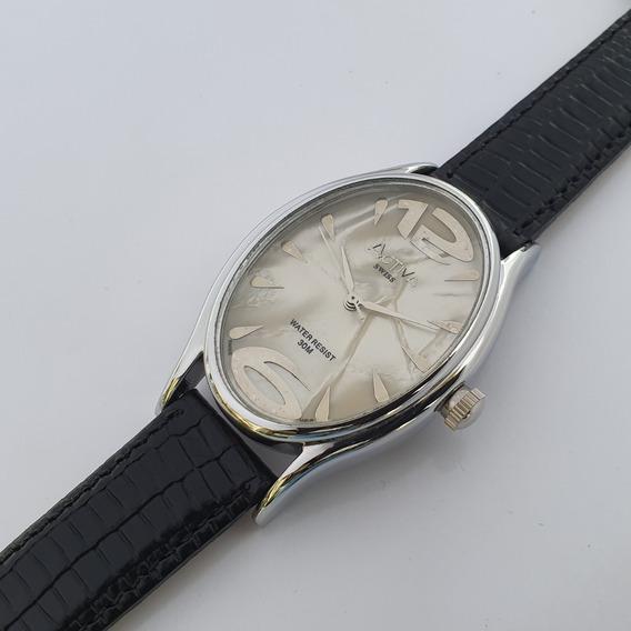 Relógio Feminino Activa Sl141-001 Madrepérola Oval